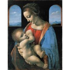 Леонардо да Винчи. Мадонна Литта. Заказать копию tkat82@mail.ru