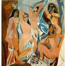 Пабло Пикассо. Авиньонские девицы. Заказать копию tkat82@mail.ru