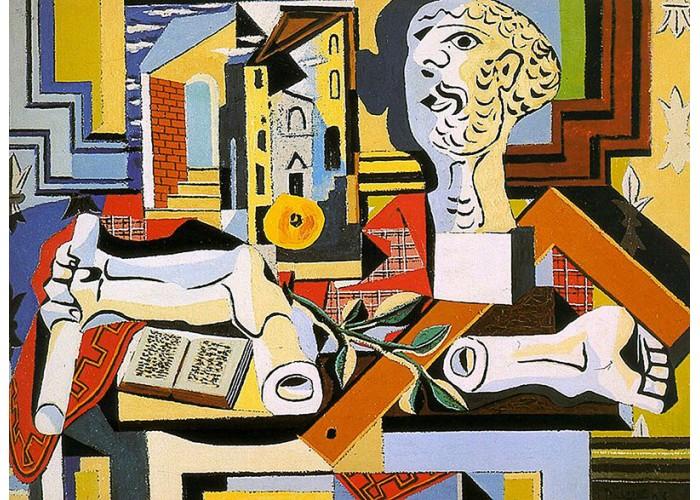 Пабло Пикассо. Студия с гипсовой головой. Заказать копию tkat82@mail.ru