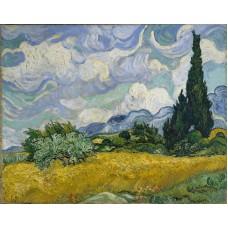 Винсент Ван Гог. Пшеничное поле. Заказать копию tkat82@mail.ru