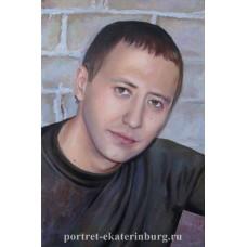 Портрет молодого человека. Живопись: холст, масло. 60х40см. 2011г.