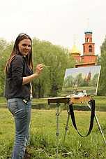 художник Екатерина Тютина-Зайкова